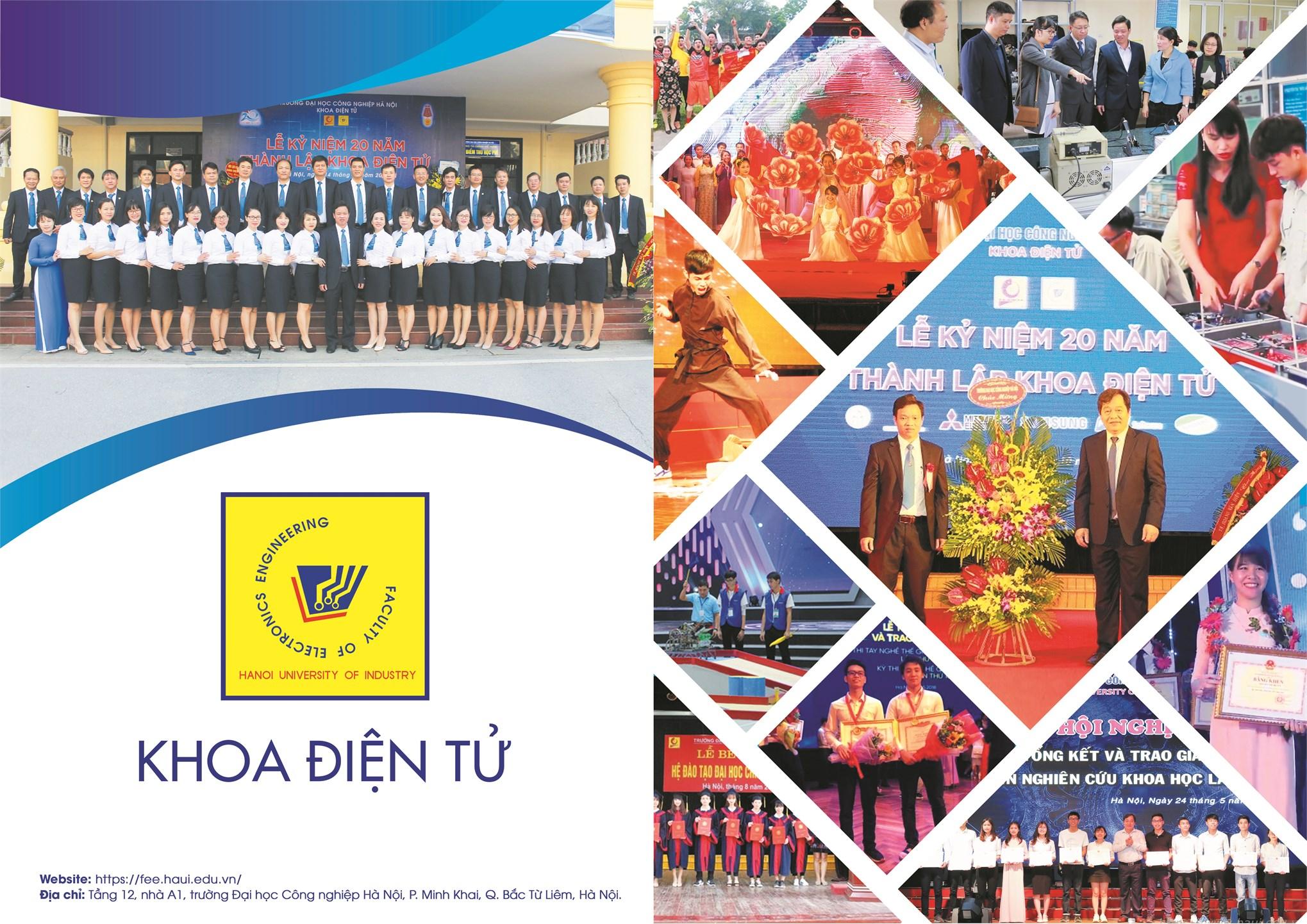 Học tập tại khoa Điện tử - Trường Đại học Công nghiệp Hà Nội là sự lựa chọn đúng đắn cho tương lai.
