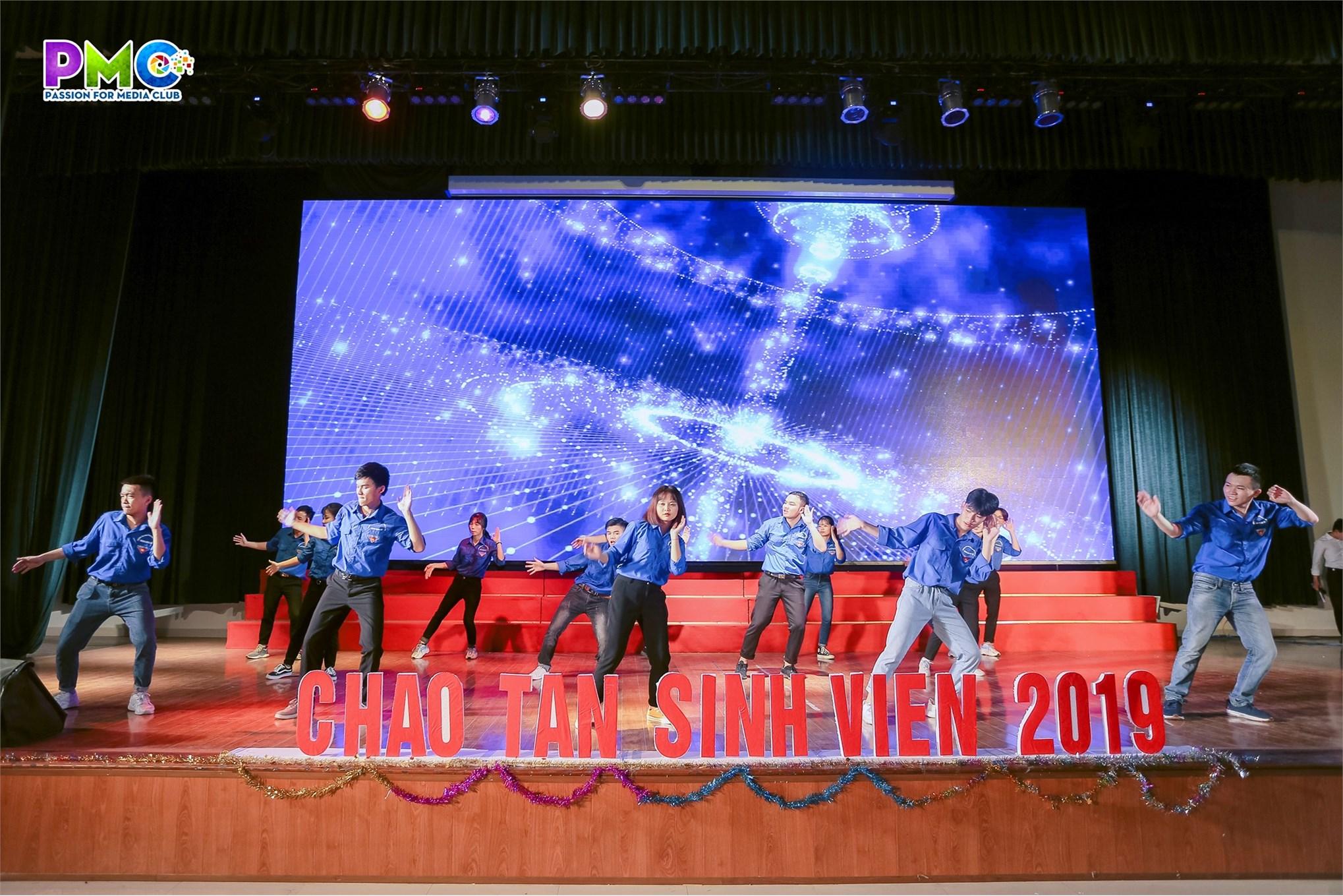 Ấn tượng chương trình chào tân sinh viên năm 2019