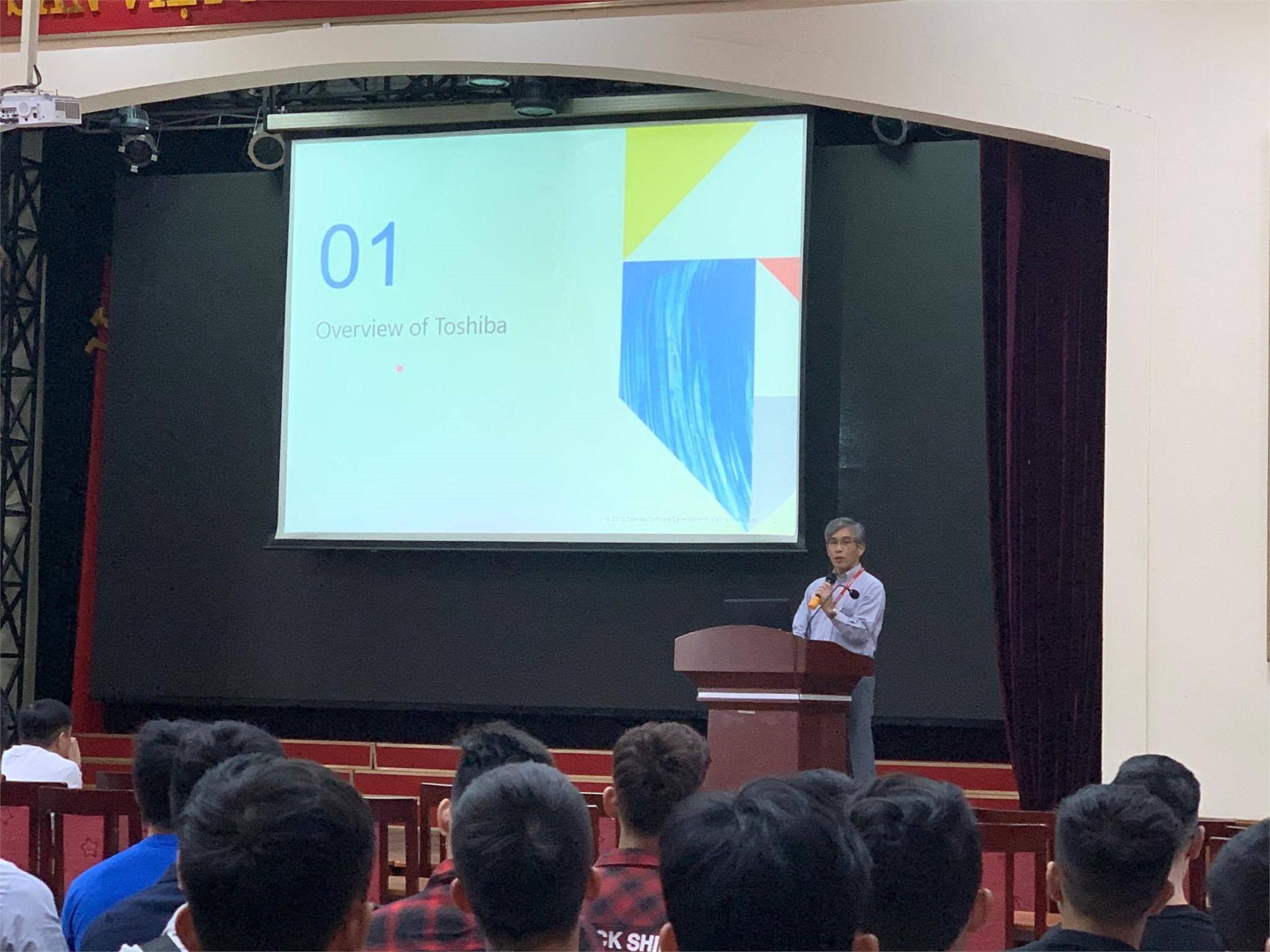 Hội thảo thực tập việc làm của Công ty TNHH phát triển phần mềm Toshiba