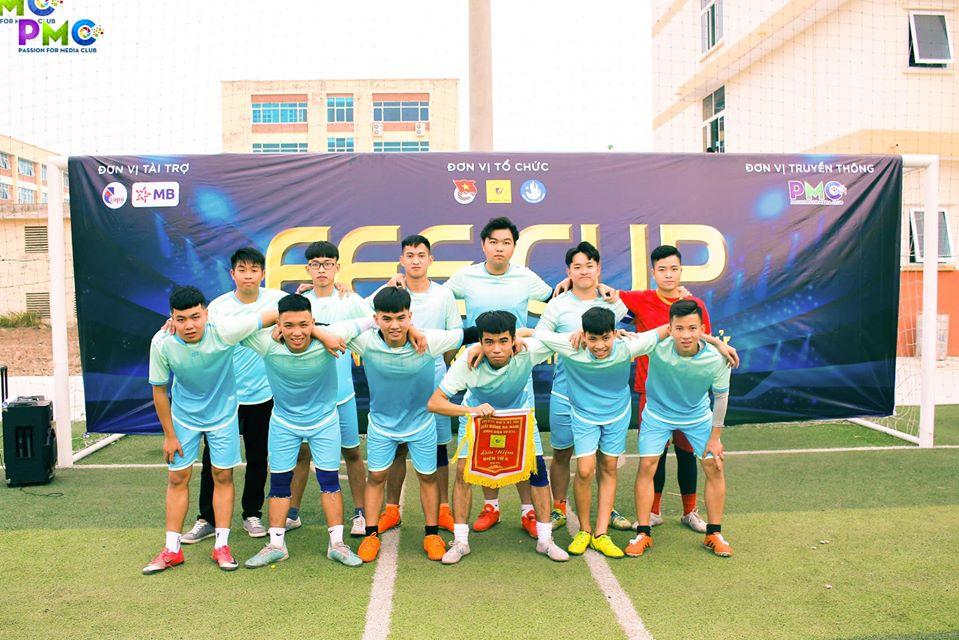 Khai Mạc giải bóng đá nam sinh viên khoa Điện tử lần thứ V năm 2019
