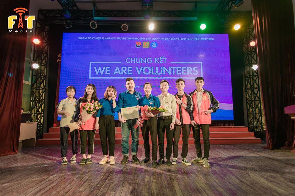 Khoa Điện tử dành ngôi vị quán quân cuộc thi `We are Volunteers`