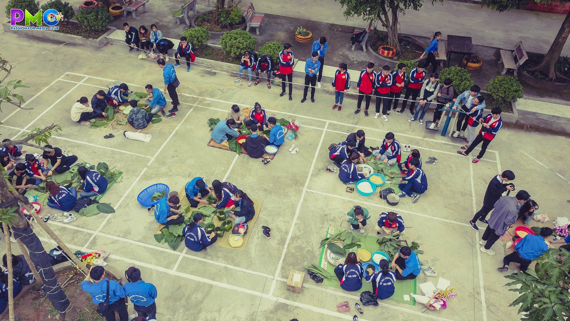 Ấm lòng chương trình `Tết yêu thương 2020` của sinh viên Khoa Điện tử với trẻ em mồ côi
