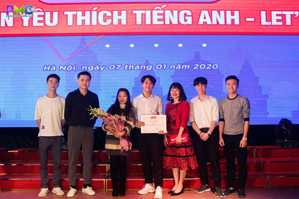 Sinh viên khoa Điện tử với chung kết cuộc thi `Let's go 2019`