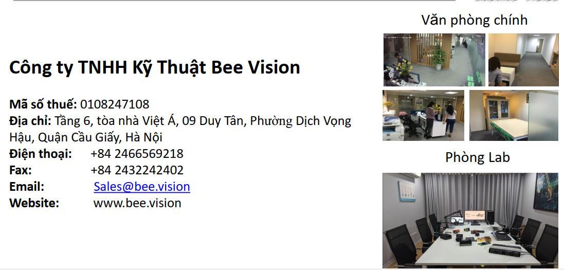 Công ty cổ phần kỹ thuật Beevision tuyển nhân sự