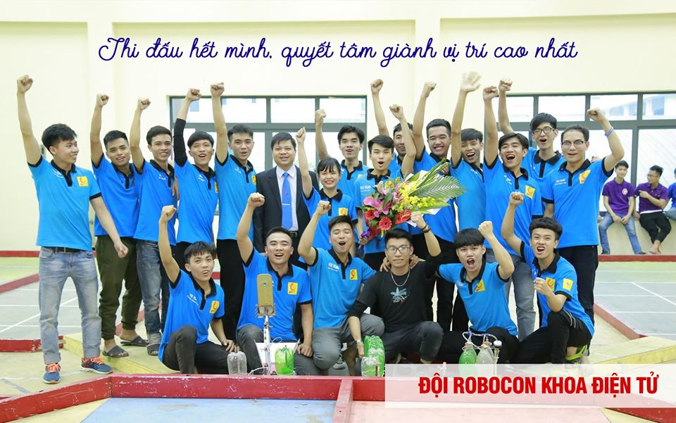 Tổ chức thi đấu Robot cấp trường năm 2020
