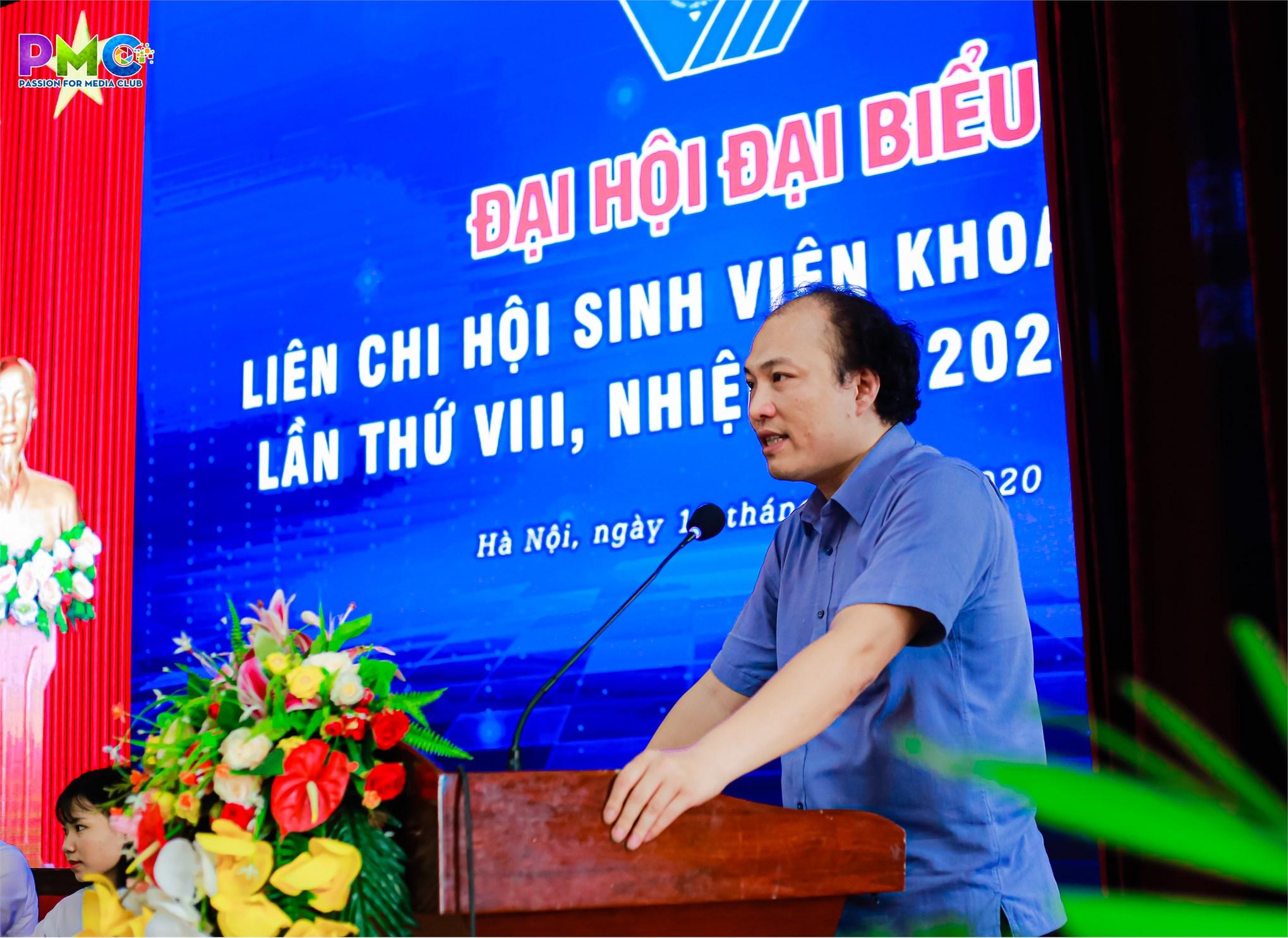 Đại hội đại biểu liên chi hội sinh viên khoa Điện tử lần thứ VIII nhiệm kỳ 2020 - 2023 diễn ra thành công tốt đẹp