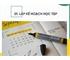 Thông báo kế hoạch tổ chức học tập học kỳ 2 năm học 2019 – 2020