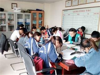 Chào đón hoạt động học trực tuyến trở lại của CLB học tập Điện tử