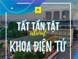 """Chào mừng các bạn đến với """"BẢN TIN REVIEW"""" khoa ĐIỆN TỬ trường Đại học Công nghiệp Hà Nội"""