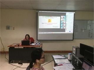 337 sinh viên khoa Điện tử bước vào tuần lễ Bảo vệ Đồ án Tốt nghiệp bằng hình thức trực tuyến