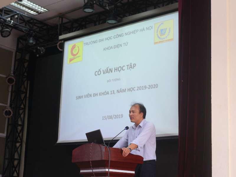 Ban cố vấn học tập khoa Điện tử năm học 2020 - 2021