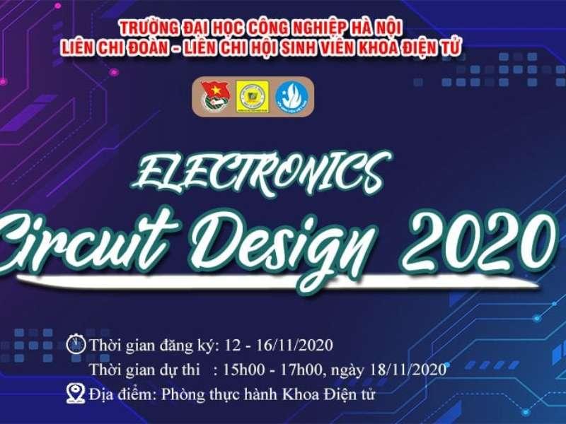"""Phát động cuộc thi """"Thiết kế mạch điện tử - Electronics Circuit Design 2020"""""""