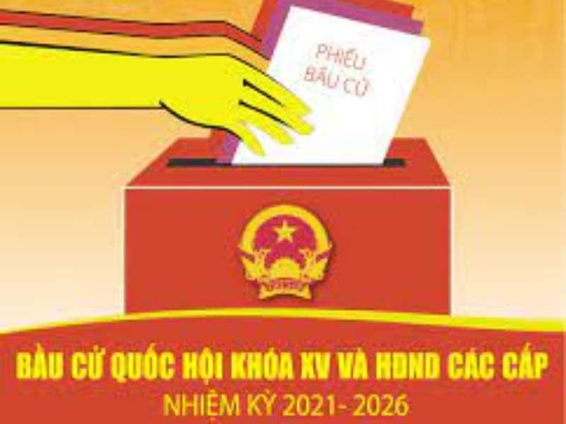 Thông báo lập danh sách cử tri phục vụ bầu cử ĐBQH khóa XV