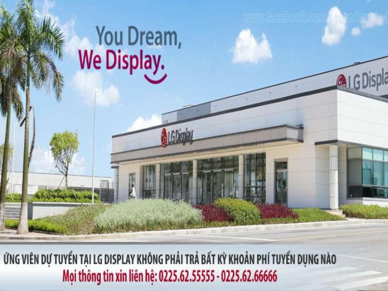 Thông báo tuyển dụng Công ty TNHH LG DISPLAY VIỆT NAM